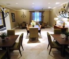 The Fisher House Dining Room